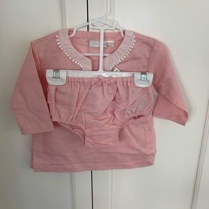 Infant/Toddler beach cover up in pink